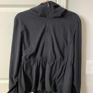 Lululemon Black Rain/Everyday Jacket